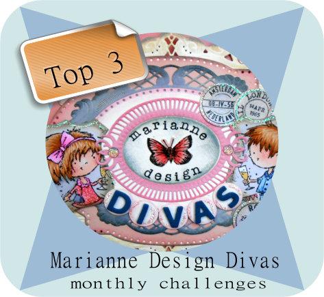 Marianne Design Divas Top 5