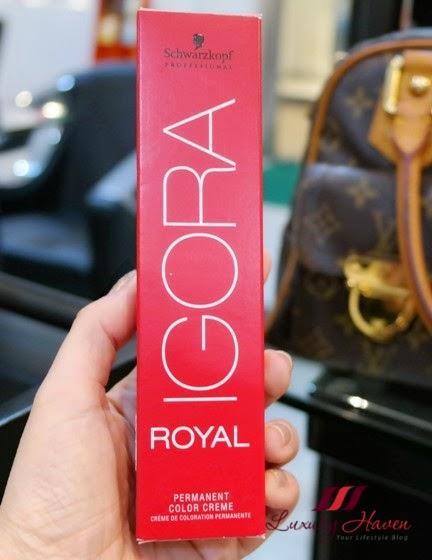 naoki yoshihara schwarzkopf igora royal hair colour