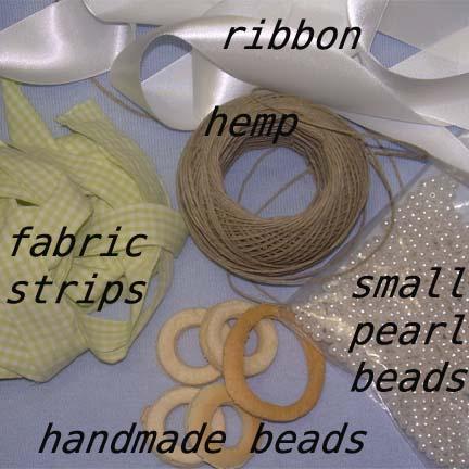 neckalaceneeds Fabric Beaded Necklace