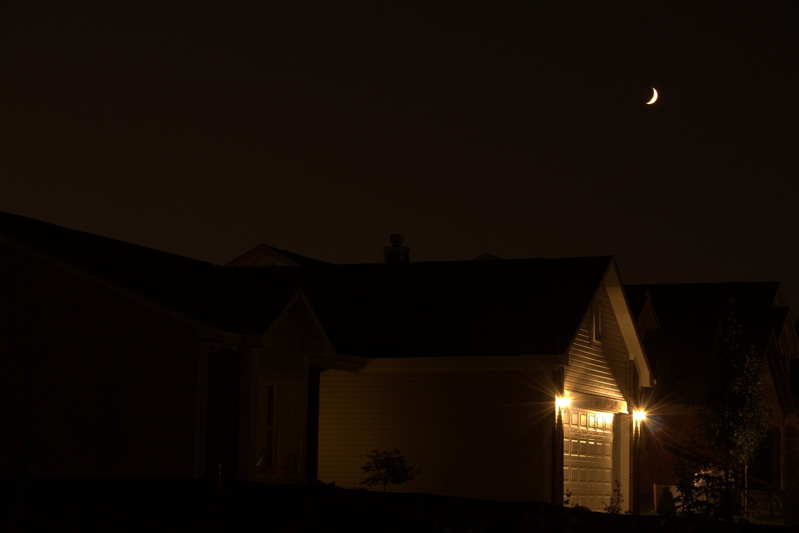 moon over garage