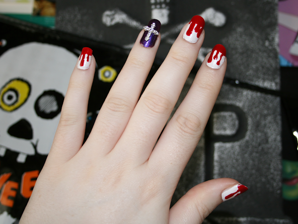 Halloween Inspired Nails | Nails Of The Week ♥