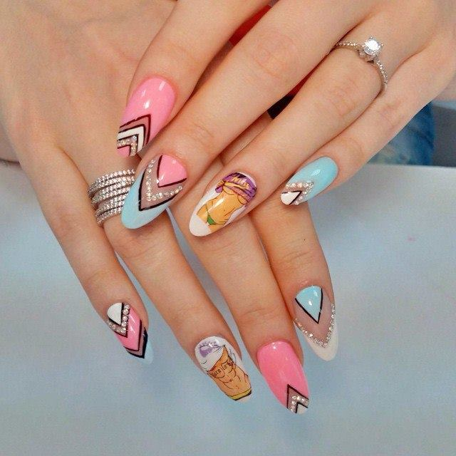 Color Full  Nails Designs | Nails