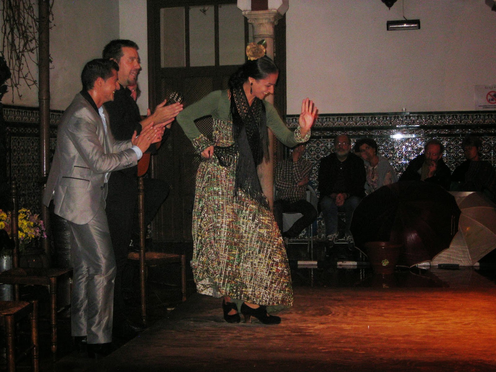Seville - Flamenco show at La Casa del Flamenco Auditorio Alcantara
