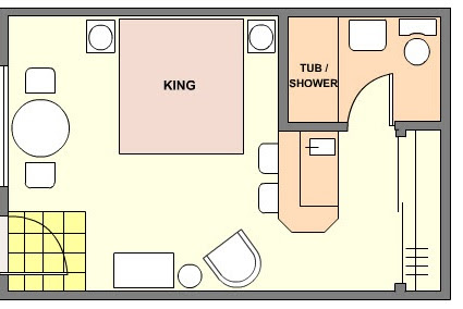 Hotel suites layout 39 s for Hotel design layout