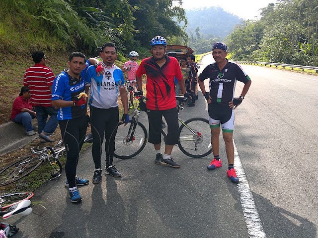 Cycling from Betau to Ringlet Cameron Highland