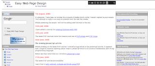 Easy Web Page Design