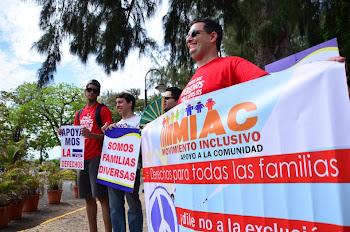 PROTESTA ANTE EL SUPREMO X DERECHOS DE ADOPCION