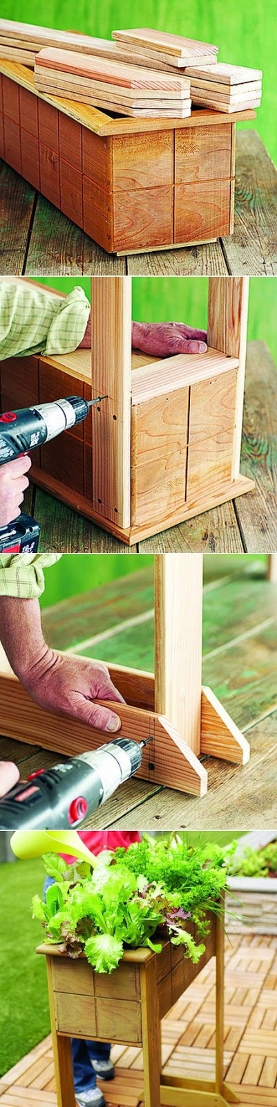 How To Make a Planter Box From wood