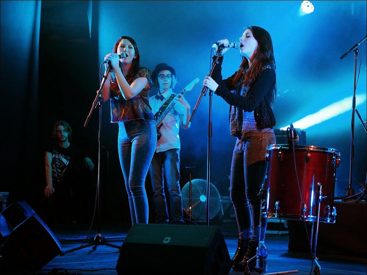Des chanteuses de Bellevue
