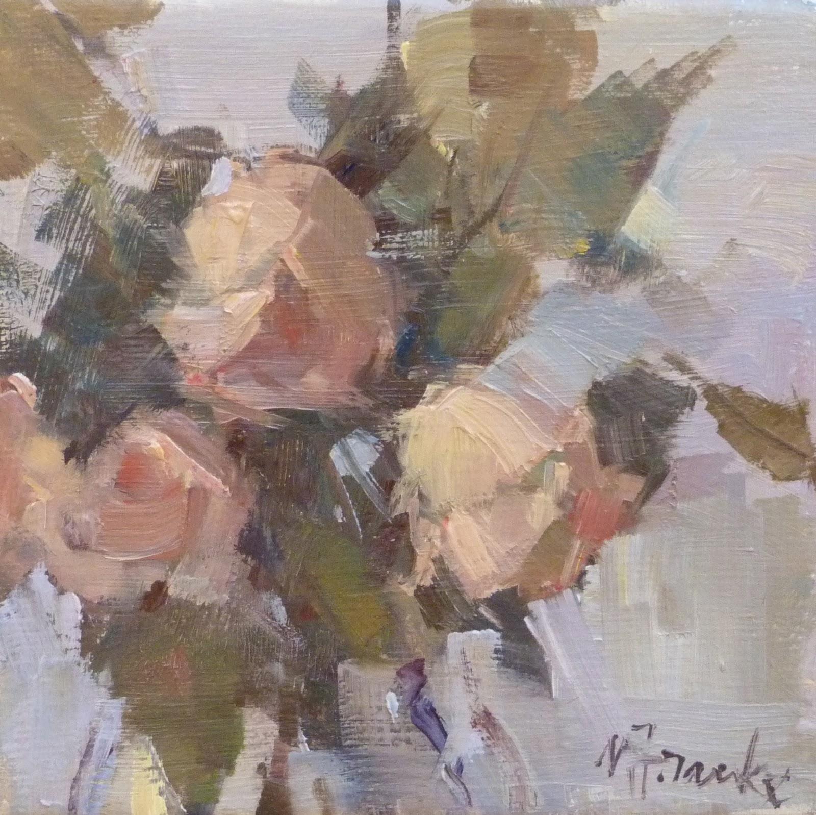 Nancy Franke Musings On Painting November 2011