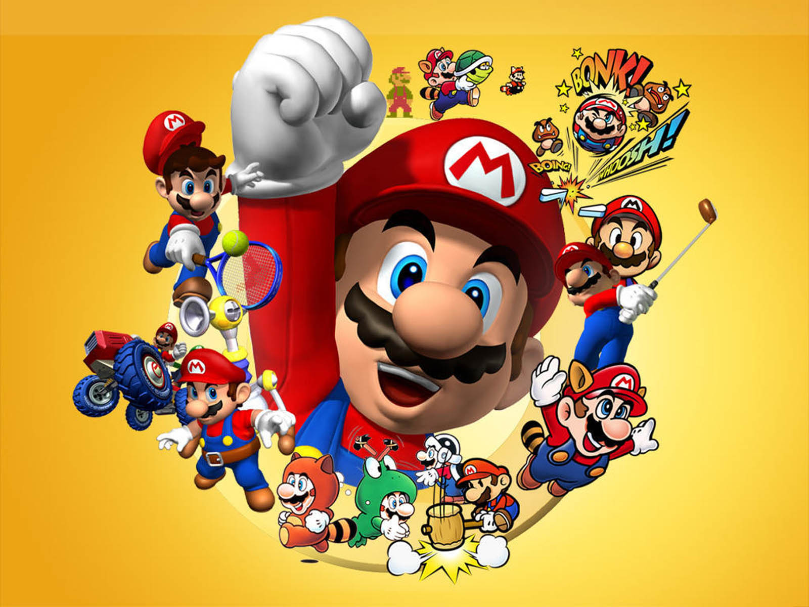 Super Mario HD & Widescreen Wallpaper 0.18025768291137