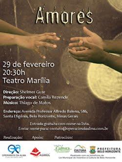 Amores - Peça Teatral