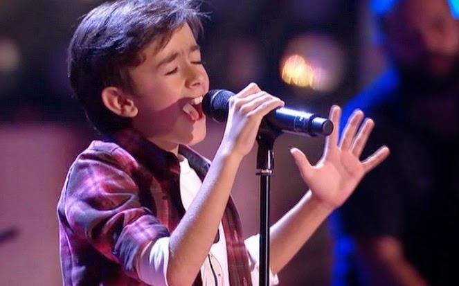 Pedro canta Impossible de James Arthur: Final Individual Pequeños Gigantes