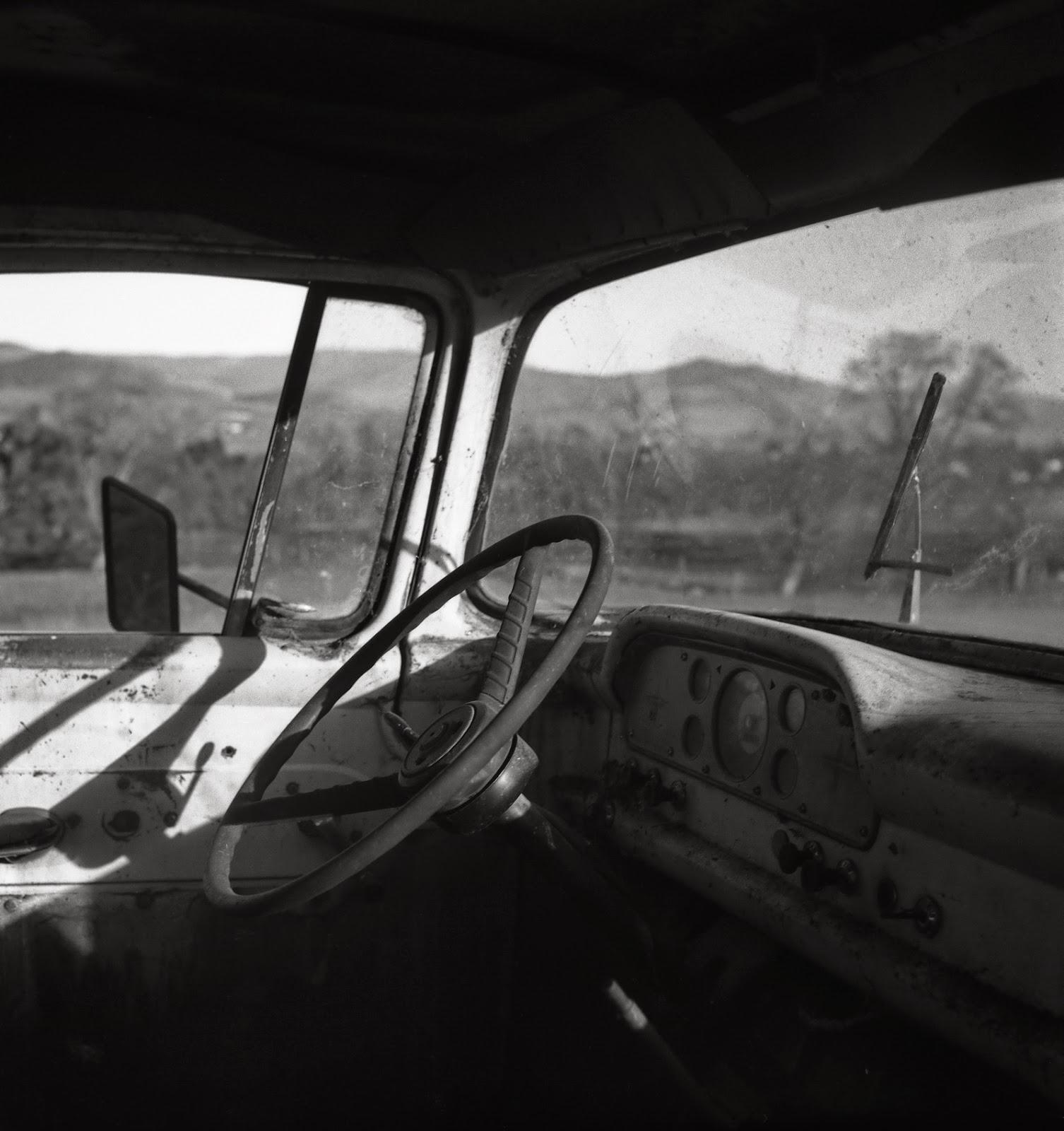 Dinosaur Speak Rp Thomas 1941 Ford Farm Truck To Rolleiflex Tlr Camera Same That Vivian Maier Shot With Uses Medium Format Film Taken At Billings Farmashland 1958
