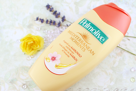 Glossybox Juli 2014 - Summer Holiday Edition - Palmolive – Duschgel Mediterranean Moments