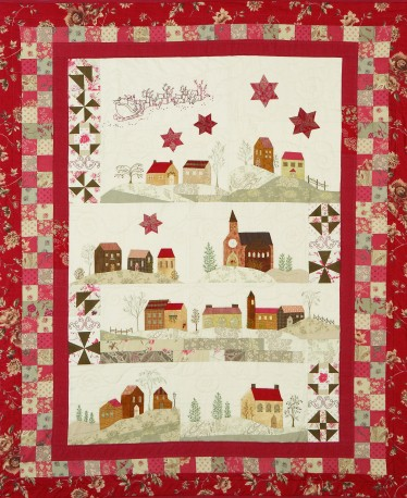 Stitching Cow: New Block of the Month Quilt Pattern Christmas in Italy : cow quilt block - Adamdwight.com