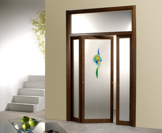 Modern homes door designs ideas new home designs for Door pattern design