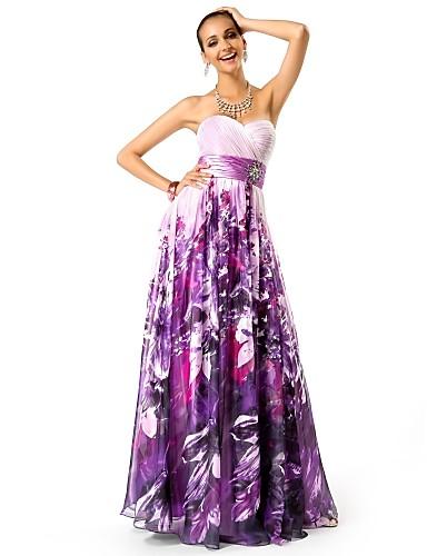 Vestido Estampado Floral Largo
