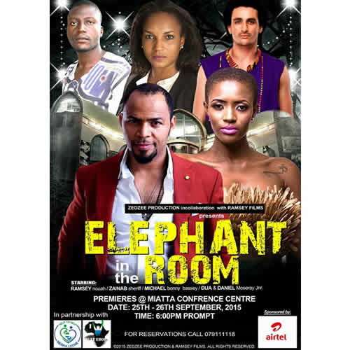 Michael Bonny Bassey Film Elephant in the room