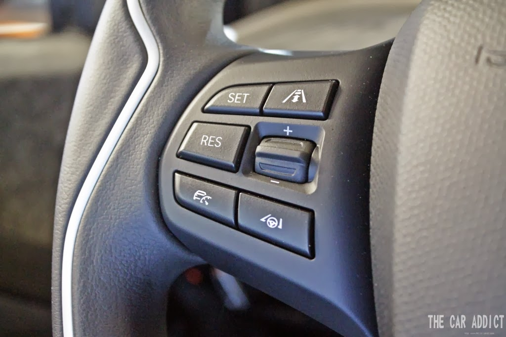 BMW i3 Steering Wheel Buttons