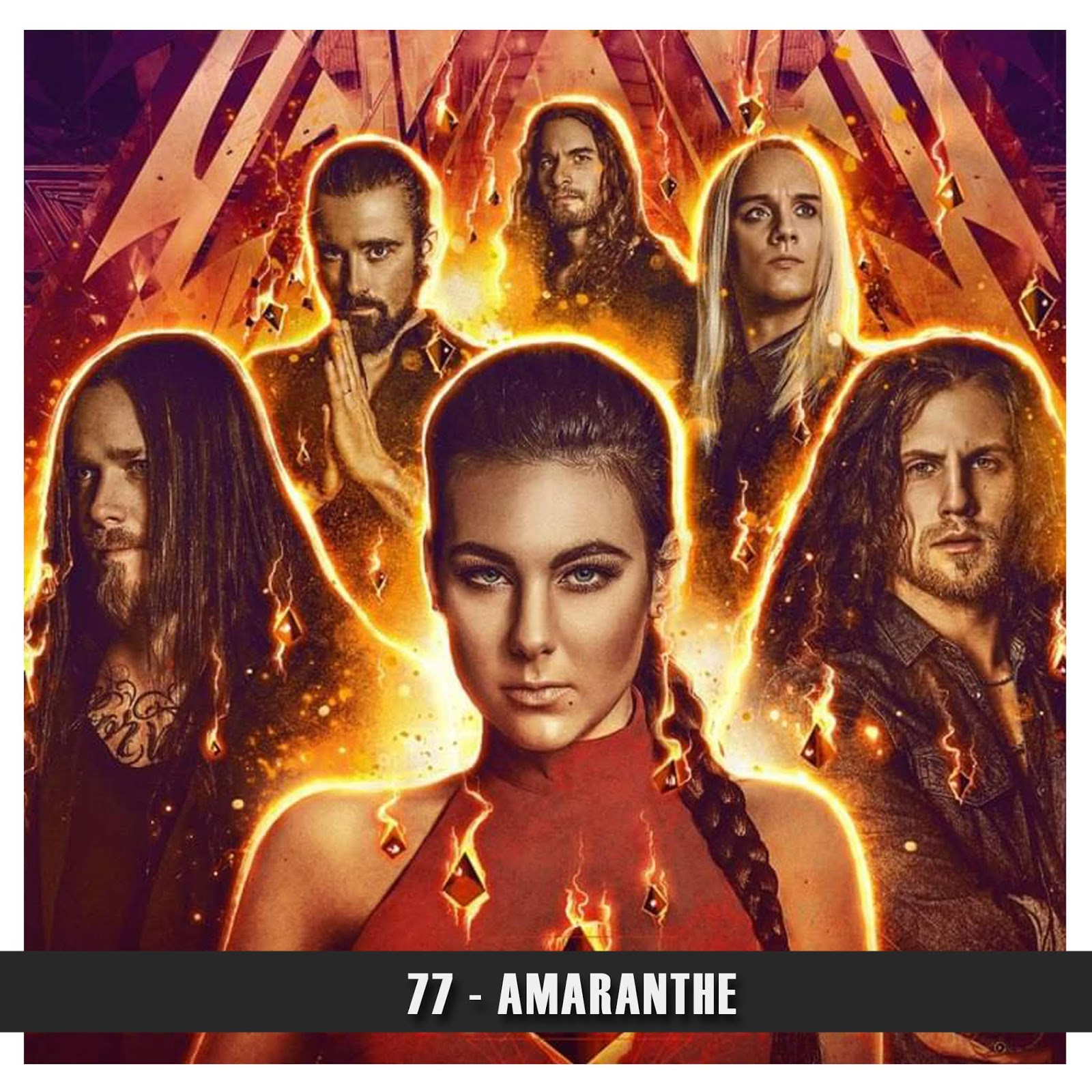 Doublecast 77 - Amaranthe