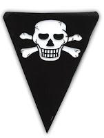 uitnodiging schatkaart piratenfeestje