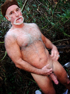 oldermen - hairy - very hairy - naked oldermen - old men - silver hairy