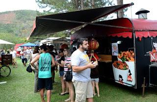 La Feira Planetária Rio + 3 Teresópolis: público aprova delícias food truck