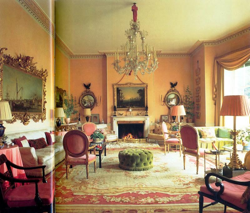 English Manor House Interiors 15 Image Office Furniture