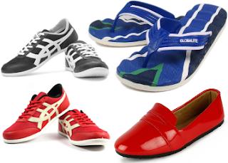 Paytm : Buy Globalite Footwear Minimum 50% to 80% off from Rs. 100- BuyToEarn