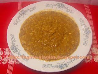 Τα φαγητά της γιαγιάς - Φακόρυζο ή φακές με ρύζι σούπα