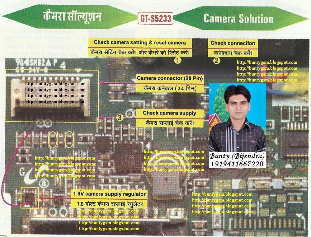 Samsung S5233 Camera Solution By Buntygsm Mobile Repairing