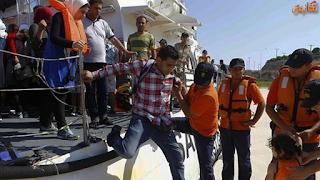 السلطات التركية تنقذ 457 مهاجرًا سوريا وتنتشل 12 جثة لاطفال ونساء
