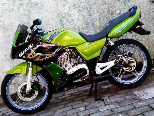 modifikasi motor thunder 2004