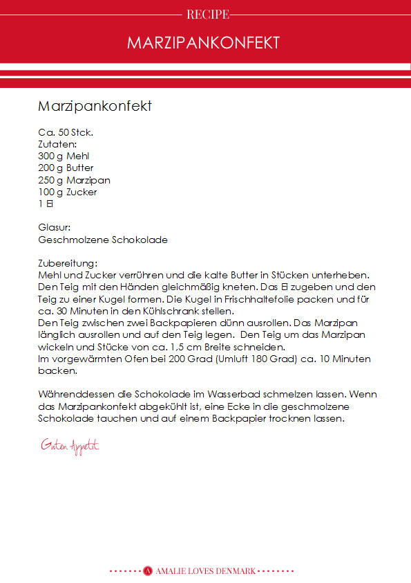 Amalie loves Denmark Rezept Marzipankonfekt Alice