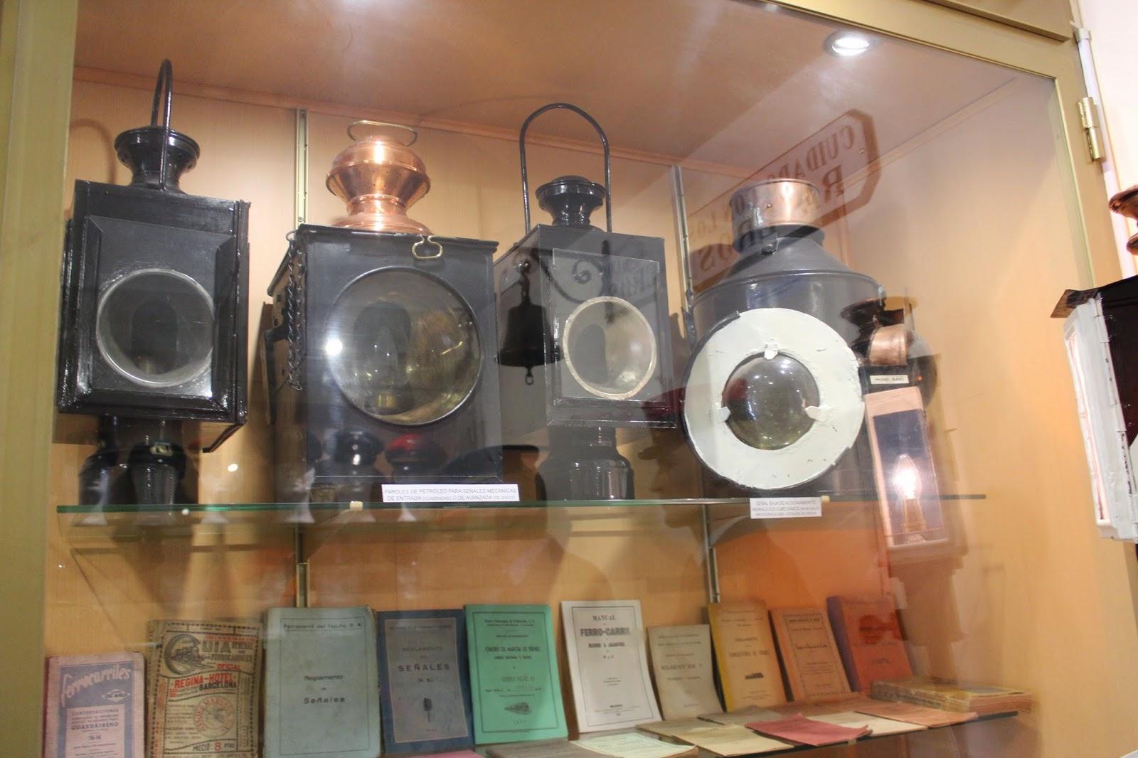 Museo de trenes antiguos en la estación de la Poveda. Arganda del Rey (Madrid)