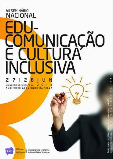 cartaz do VII Seminário EduComunicação e Cultura Inclusiva