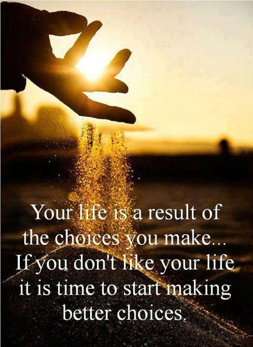 inspirational picture quotes your life is the result