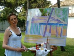 Pintura rápida en Godella.