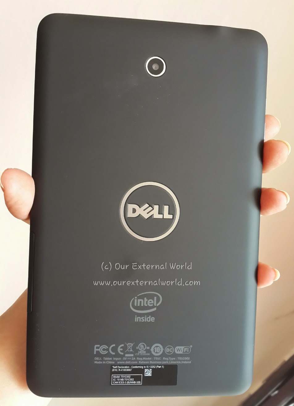 Dell Venue 7 For Blogging On The Go