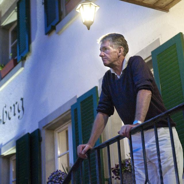 Kjeld Rasmussen på hotel i Zürich, før han skal dø hos Dignitas