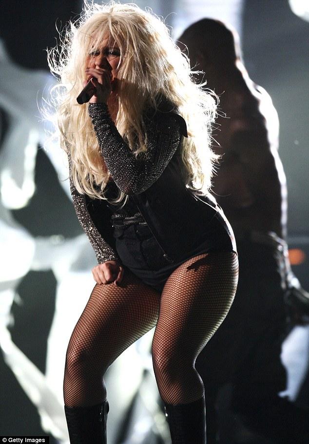 Christina Aguilera Michael Jackson Tribute Concert