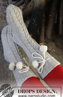 chaussettes tricot carofoliz drops design diy