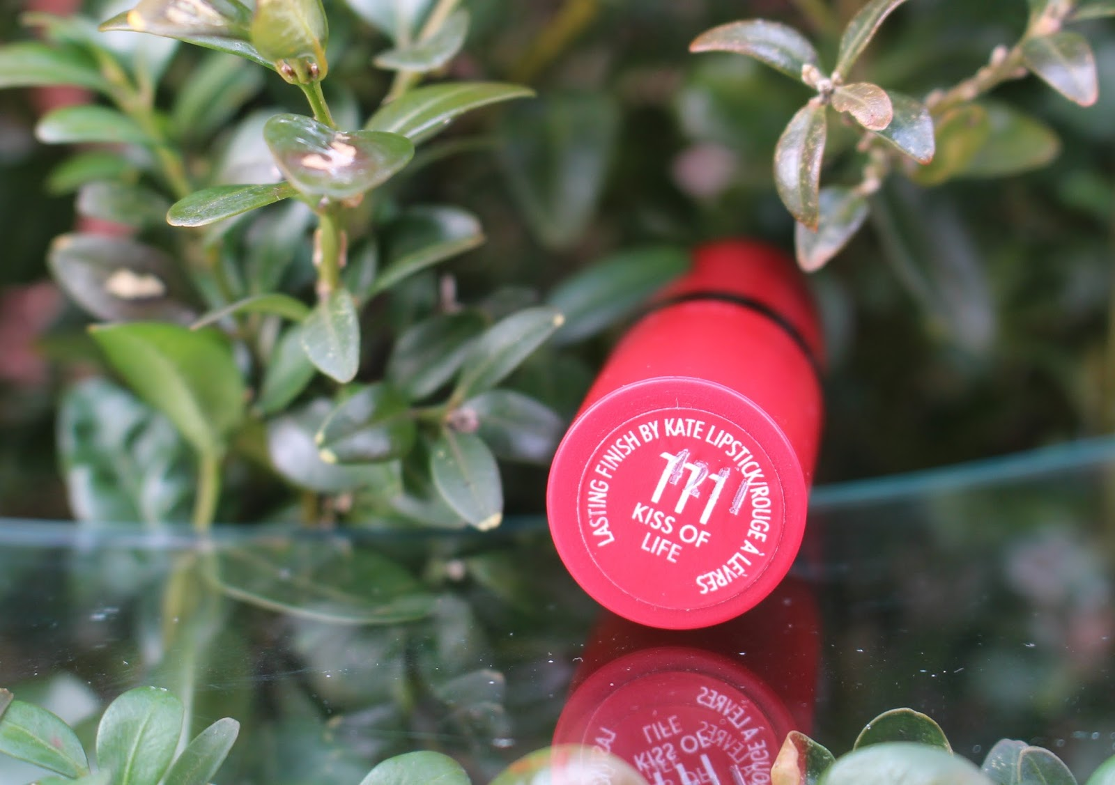 rimmel, rimmel kate moss, rimmel kate moss 111, rimmel kate moss kiss of life 111 lipstick, rimmel lipstick, through chelsea's eyes, review,