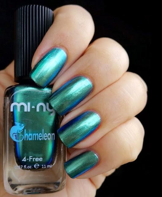 turquoise blue - Chameleon Mi-Ny 01