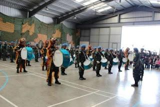 Drum Band Satgas Indobatt XXIII-J/Unifil Pukau Penonton di Lebanon