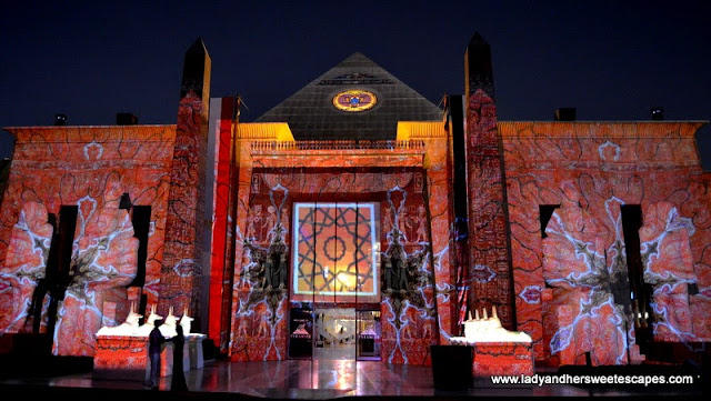Ramadan Light and Sound Show 4 at Wafi