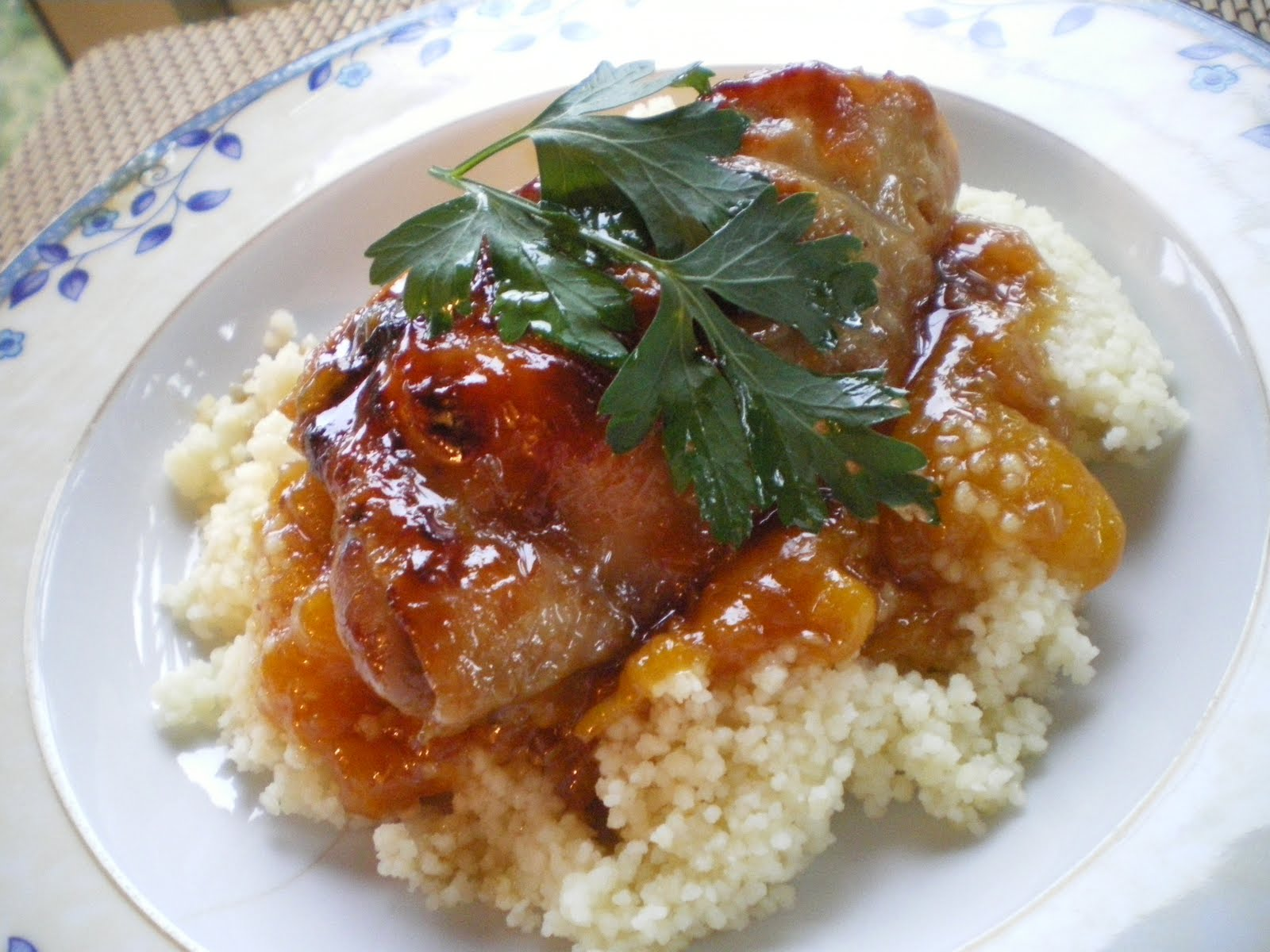 Shelly's Kitchen: Apricot Glazed Chicken