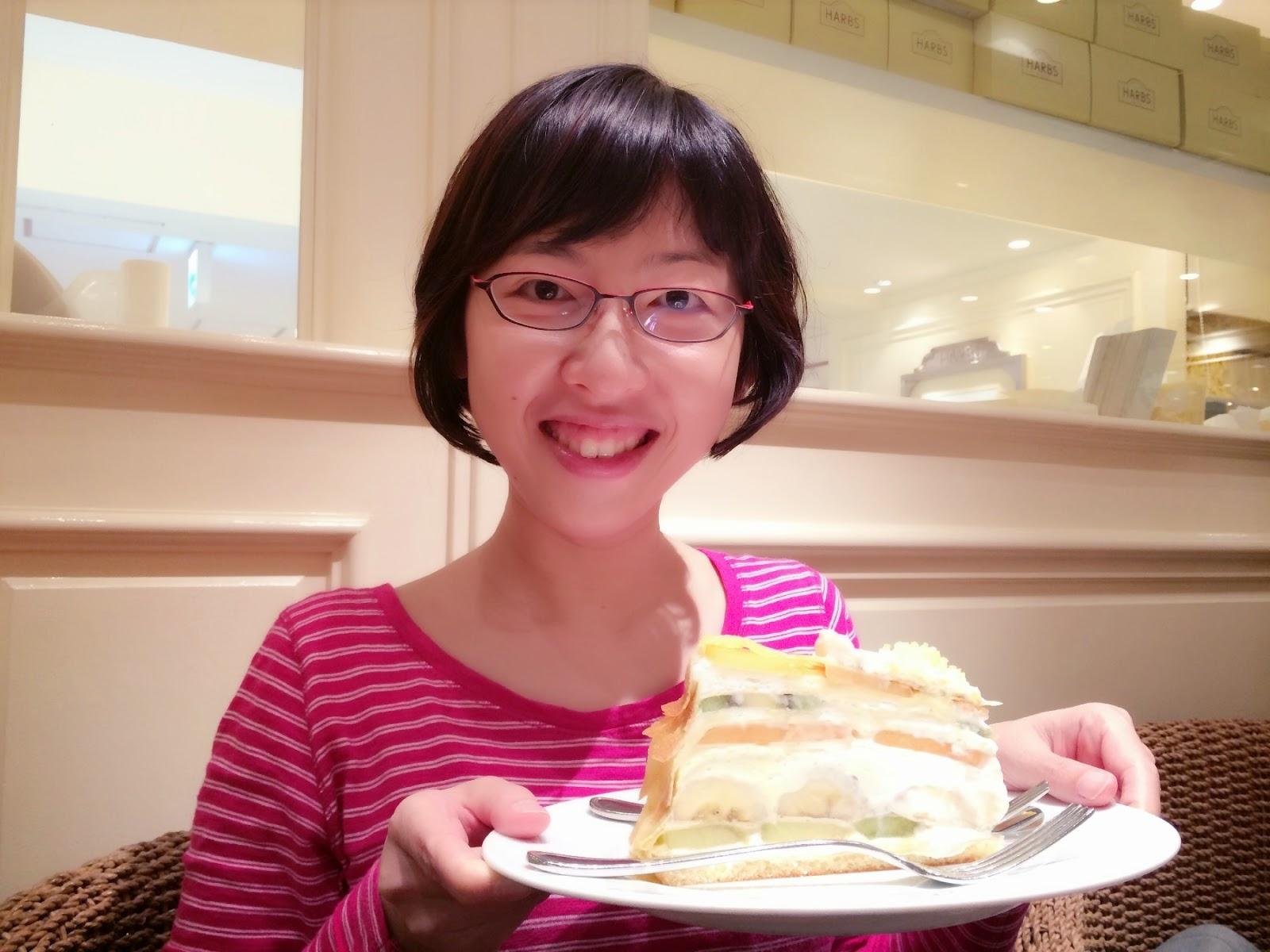 japanese cake fruit crepe tokyo shinjuju harbs japan