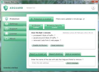 برنامج adguard web filter لحجب الاعلانات اخر اصدار 2015